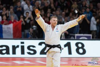 Axel Clerget au Grand Slam de Paris 2018 - Photo : Mathieu Chouchane