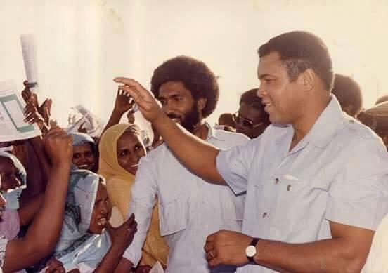 محمد علي كلاي ف السودان