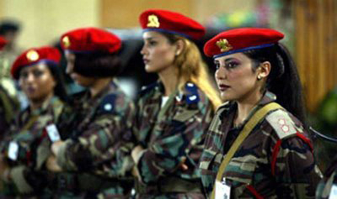 حارسات القذافي