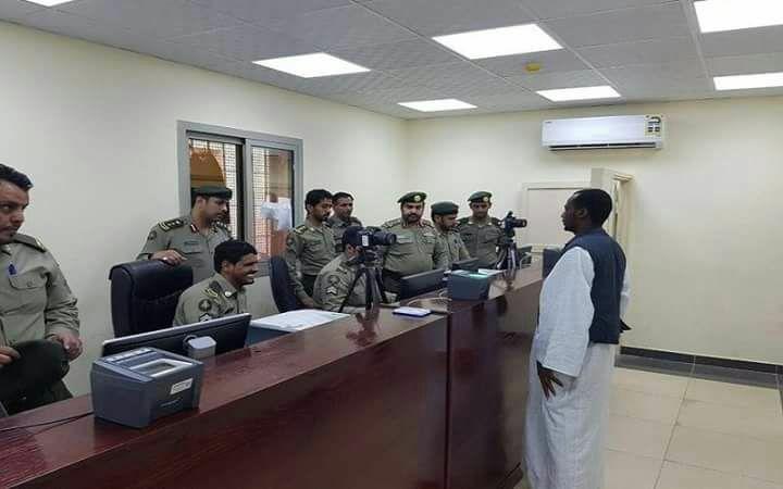 سوداني يسلم نفسه للجوازات السعودية في حملة وطن بلا مخالف