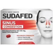 SUDAFED® CONGESTION FOR SINUS PRESSURE | SUDAFED®