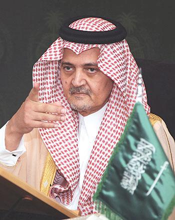 سعود الفيصل: اذا قرعت الحرب طبولها .. نحن جاهزون لها