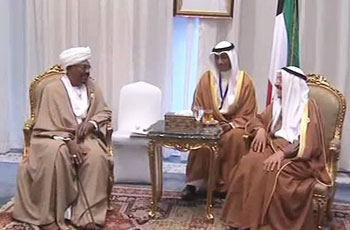مباحثات ثنائية للبشير مع أميري قطر والكويت