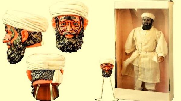"""دمية """"عين الشيطان"""" لبن لادن صنعتها CIA وباعها المزاد"""
