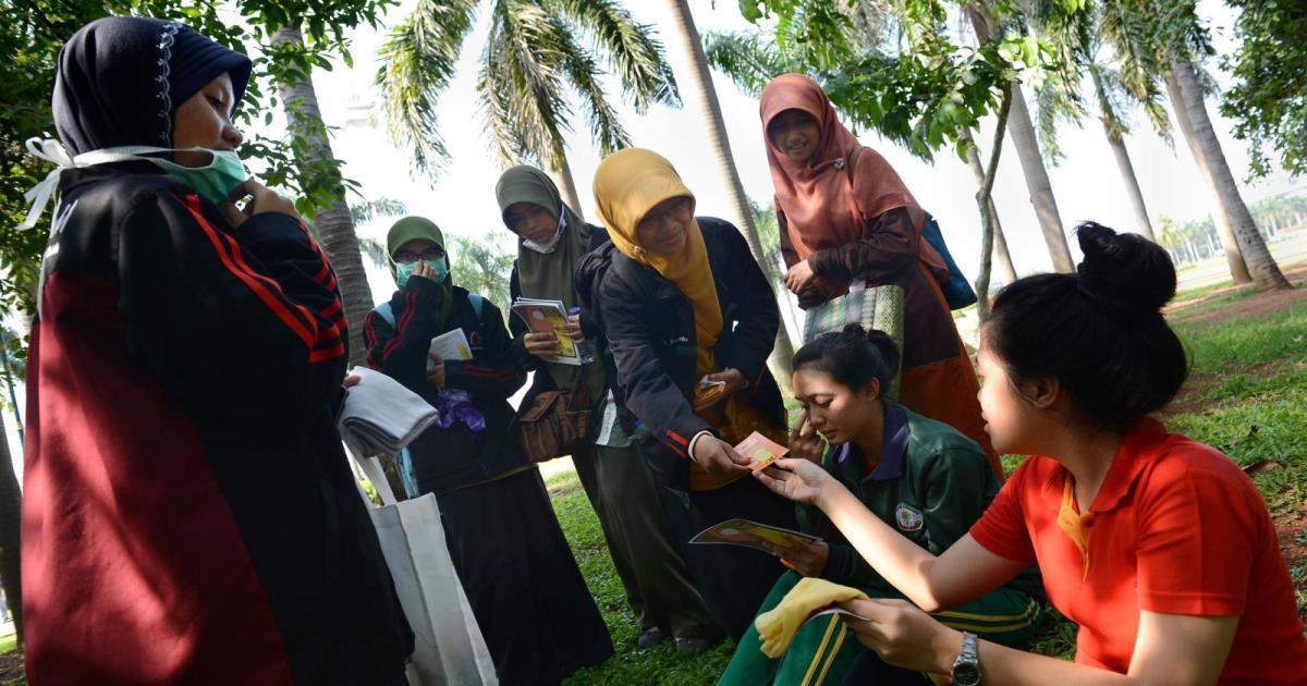 إندونيسيات ينشرن الإسلام عبر الموسيقى