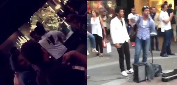 بالفيديو: رقص وغناء الخليجيين في شوارع لندن.. بين مؤيد ومعارض!
