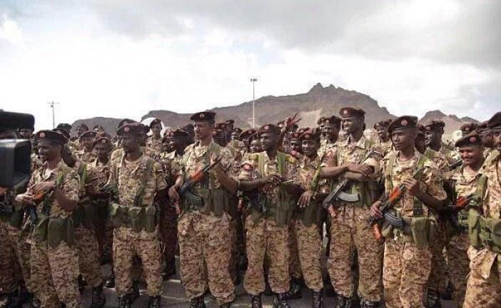 القوات السودانية تتسلم مهامها بقوات التحالف في اليمن