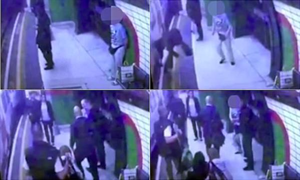 اعتقال مسن بريطاني حاول قتل مسلمة تحت عجلات قطار