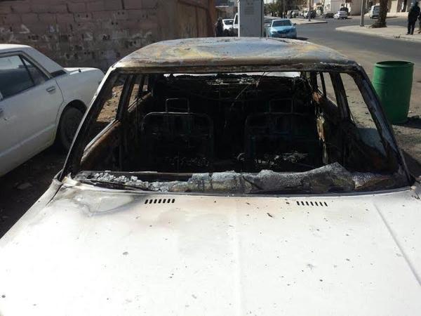 السعودية : سجن وجلد طالبيْن أُحرقا مركبة معلمهما  السوداني وجلدهما 200 جلدة و تسلّم 10 آلاف تعويضاً عن خسائره