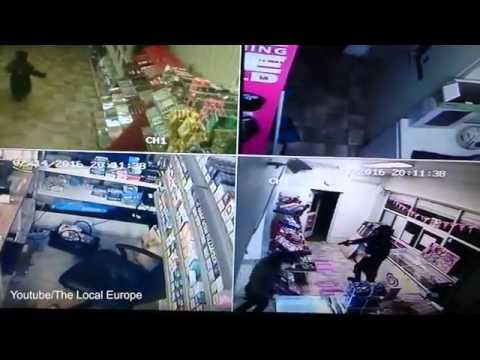 بالفيديو: معركة شرسة بين مصرية وملثم هاجمها بمسدس