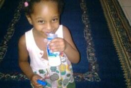 صورة الطفلة السودانية التي سقطت من الطابق التاسع بالإمارات !!