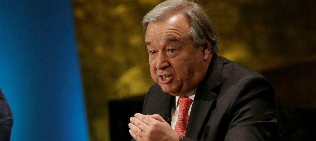 UN Secretary-General Antonio Guterres. [Photo via Getty Images]