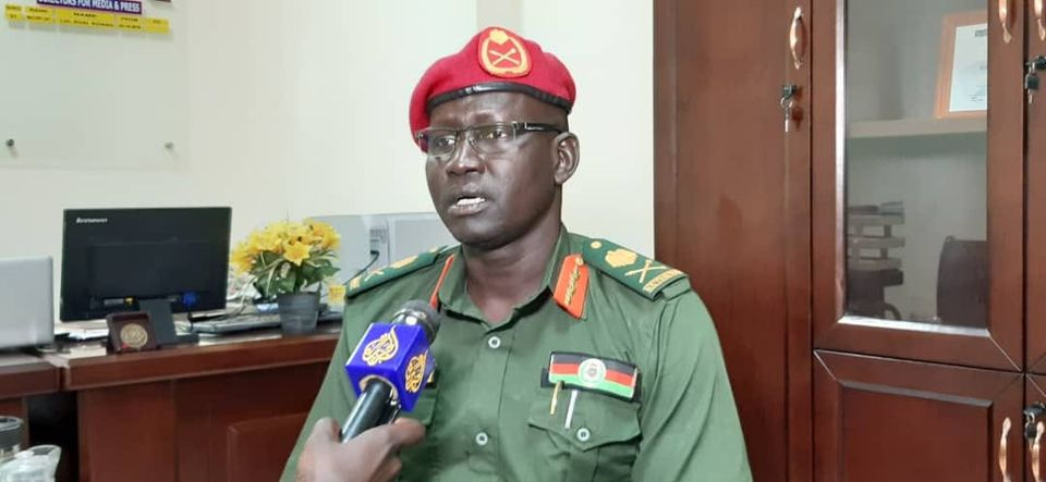 South Sudan army spokesman Major-General Lul Ruai Koang [Photo by Al Jazeera English]