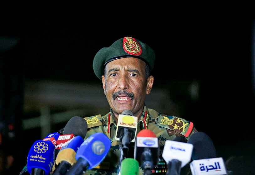 President of the Sovereign Council of Sudan, General Abdel Fattah al-Burhan [Photo by AFP]