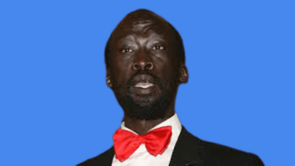 SPLM-IO chairperson of National Committee for Information and Public Relations Mabior Garang De Mabior [Photo moderated by Sudans Post]