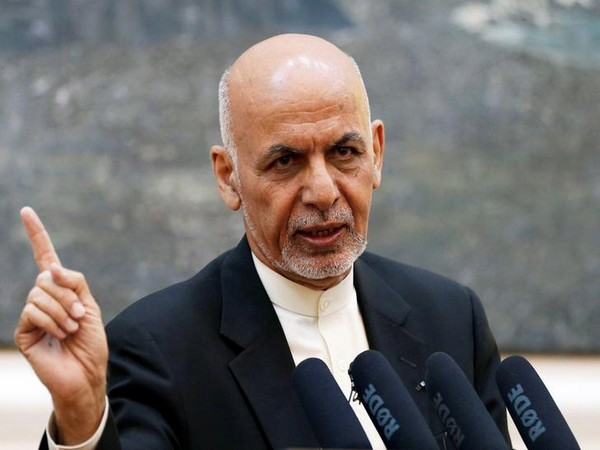 Afghan President Ashraf Ghani speaks during a news conference in Kabul, Afghanistan July 15, 2018. [REUTERS/Mohammad Ismail]