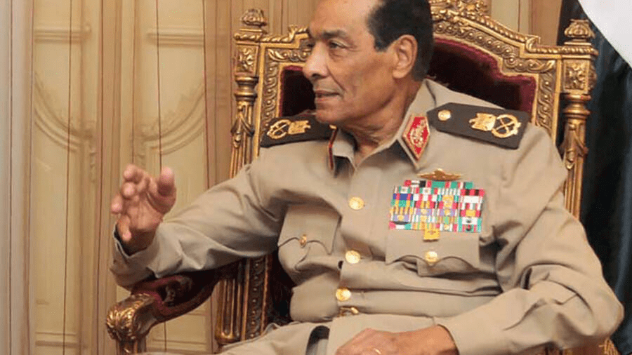 Field Marshal Mohammed Hussein Tantawi, who died at the age of 85, headed the military junta that ruled Egypt in the aftermath of Hosni Mubarak's ouster before being sacked by the country's first freely elected leader [Photo by YOUSEF ALLAN PETRA/AFP]