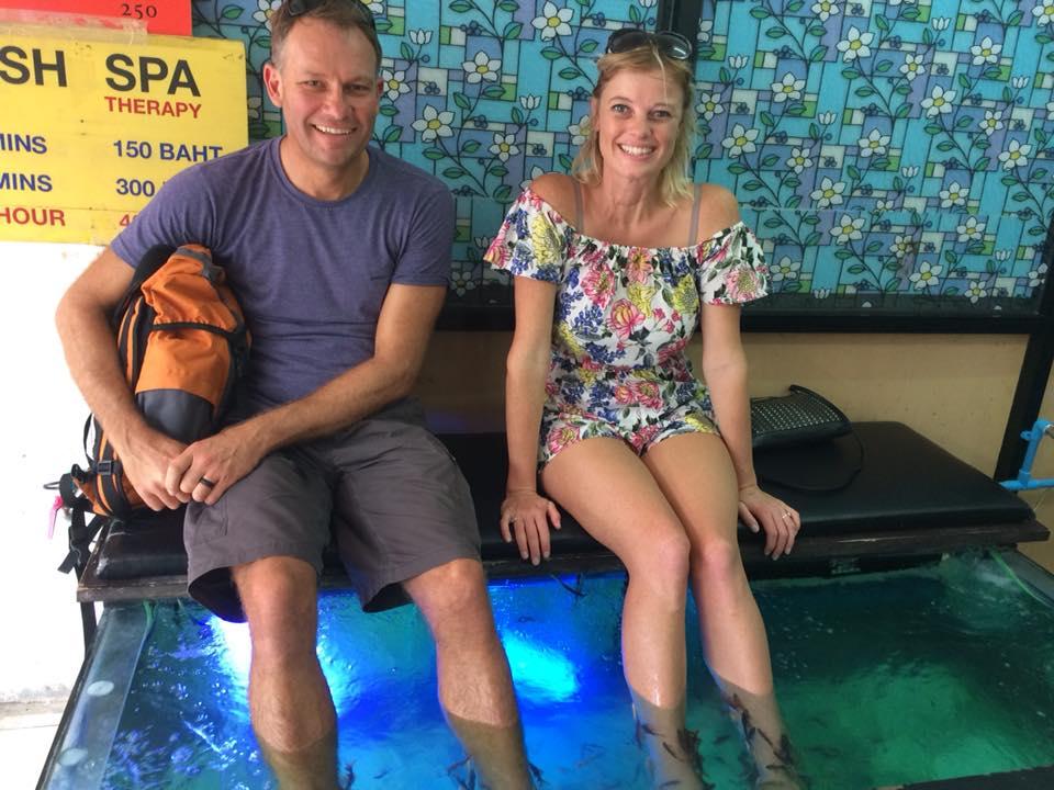 Fish spa in Bangkok