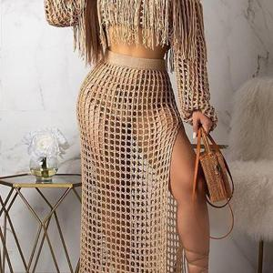 2 piece swimsuit cover up