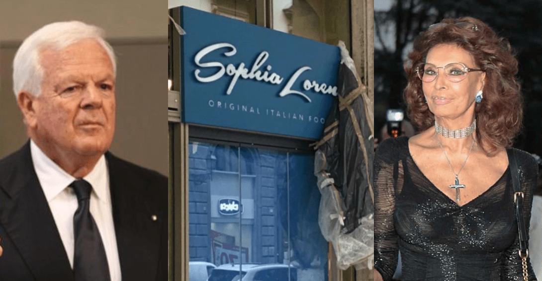 """Cimmino di Yamamay e Carpisa apre i ristoranti """"Sophia Loren"""": """"Abbiamo entrambi Napoli nel cuore"""""""
