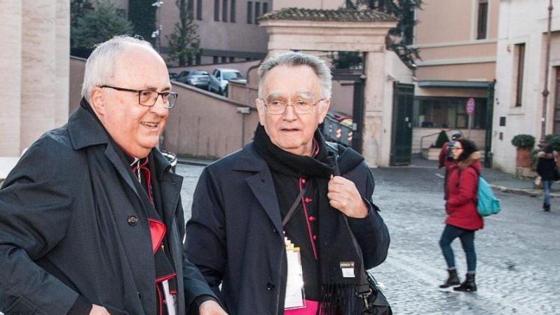 Abus sexuels: il y a un «trouble profond» au sein de l'Église, selon le président des évêques de France
