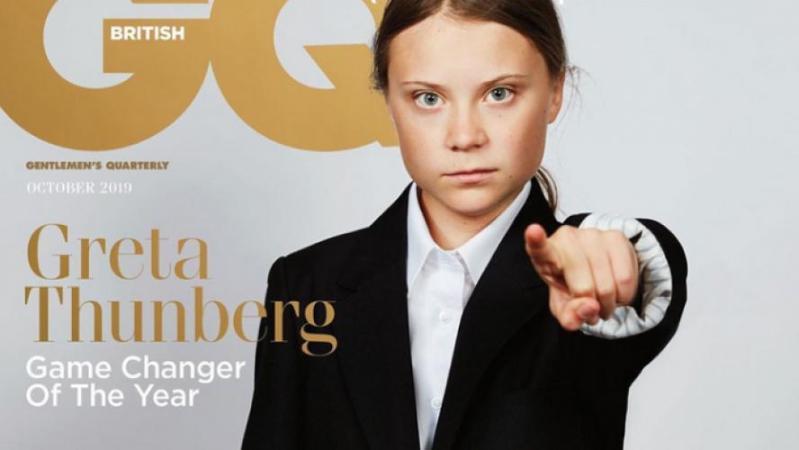 Greta Thunberg désignée «Game changer of the year» par un magazine britannique