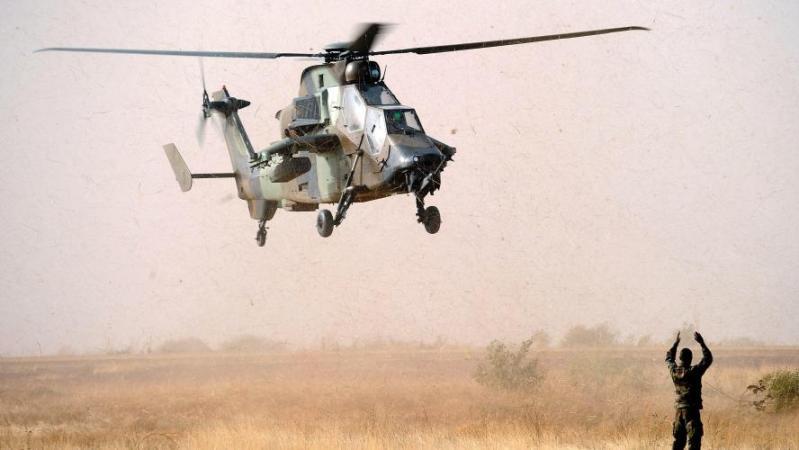 Un hélicoptère Tigre est entré en collision avec un hélicoptère Cougar. (AFP)