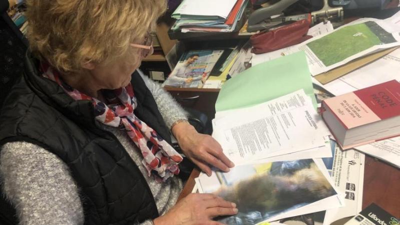 Jeanne-Marie Binot, la directrice de la SPA de Marly, explique que l'association a porté plainte.