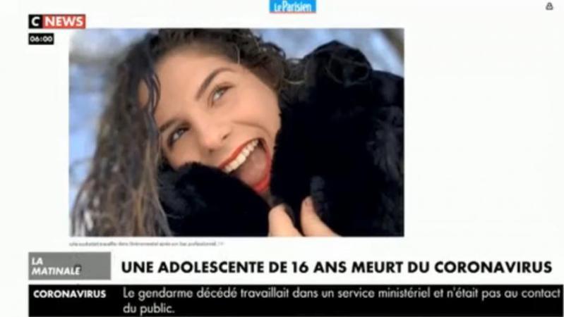 Julie, 16 ans, morte du coronavirus en France: «Elle avait juste une toux», déplore la maman de la jeune défunte