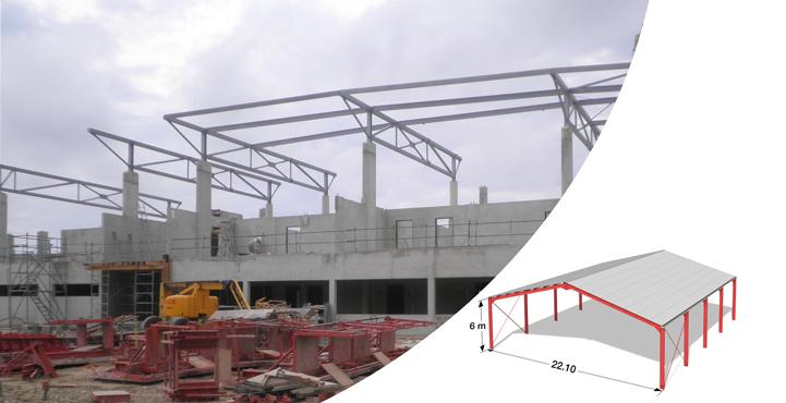Entreprise Construction Metallique Vente Hangar Metallique Charpente Metallique