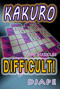 Difficult Kakuro book