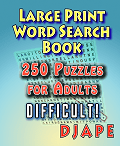 Large Print Word Search Book Puzzles for Adults