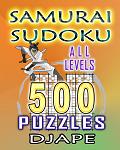 Samurai Sudoku, 500 puzzles, all levels