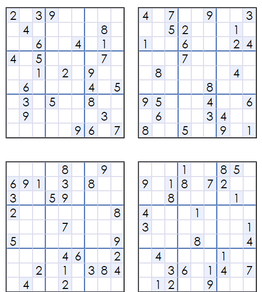 Free Sudoku Puzzle Download Printable Sudoku99