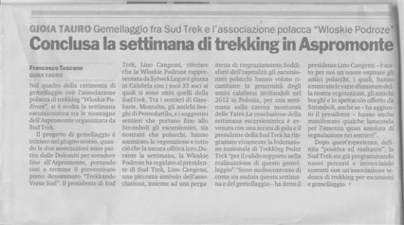 Gazzetta del Sud – 6 Dicembre 2011