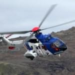 Björgunarsveitaræfing með þyrlu í Grindavík í kvöld