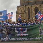 Suðurnesjatrommari vekur athygli á EM – Myndband!