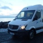 Crew semur við Fly over Iceland um áætlunarakstur fyrir gesti sýningarinnar
