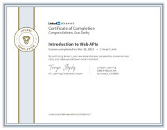Introduction To Web APIs