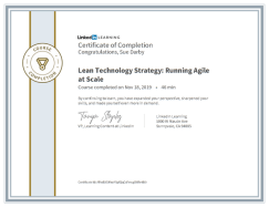 Lean Technology Strategy Running Agile At Scale