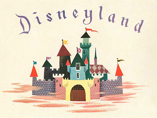 1950s Christmas Cards From The Walt Disney Studios