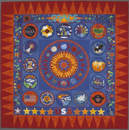 The Space Quilt Sue Nickels Quilter Author Teacher