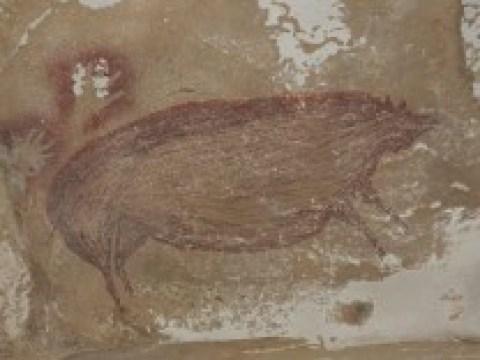 Archäologie: Die älteste figürliche Darstellung der Welt zeigt ein Schwein