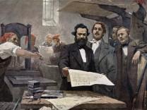Karl Marx und Friedrich Engels als Journalisten während der Revolution: Zwei Souveräne