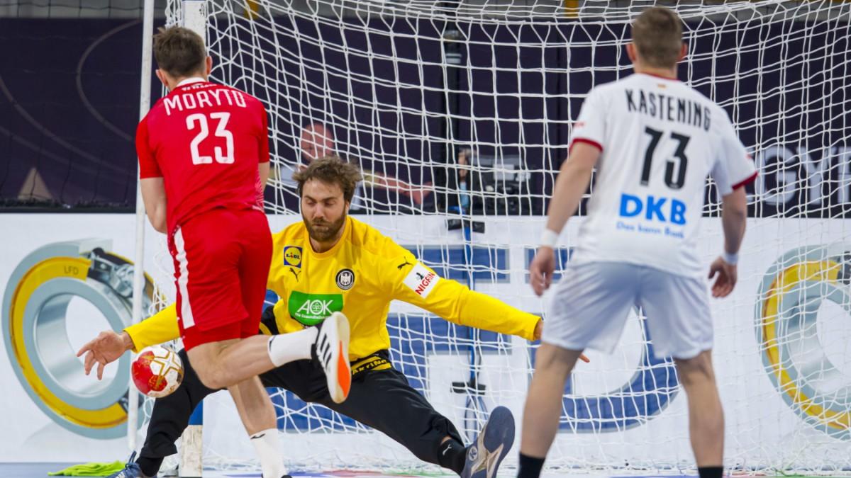 handball wm im testspiel modus sport