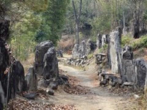 Megalith-Kultur in Indien: Steine als Statussymbol