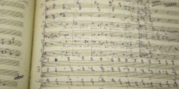 Klassik-Partituren: Alles in Violett