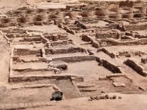 Antike: Archäologen entdecken 3000 Jahre alte Stadt in Ägypten