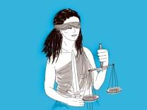 Litigation-PR: Justitia hört ziemlich gut