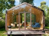 Klimafreundliches Bauen: Haus aus Pappe